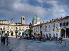 Brescia - Piazza della Loggia - HDR
