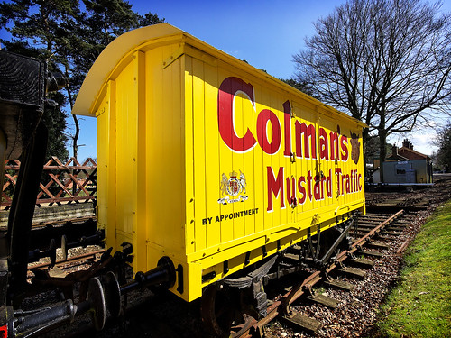 Colman's Mustard Traffic