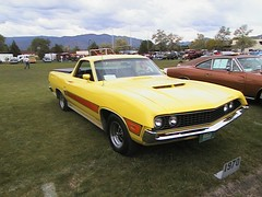 1970 Ford Ranchero GT (coconv) Tags: auto old cars ford hardtop car yellow vintage torino automobile antique vehicles vehicle 1970 autos collectible gt collectors 70 coupe automobiles ranchero blart