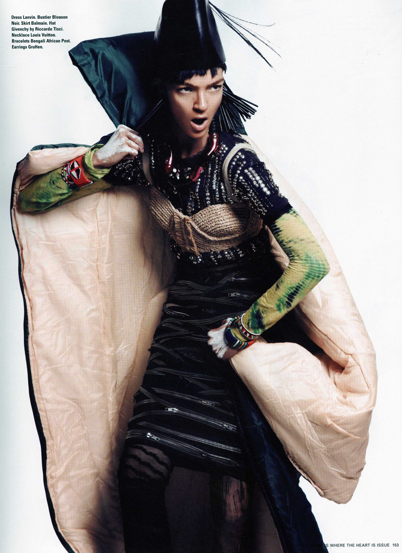 i-D Magazine Spring 2010 ph Paola Kudacki stylist Havana Laffitte model Mariacarla Boscono 4