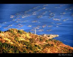 baklad in HDR (falk3n) Tags: blue sea lake fish water circle photography power philippines line land tagaytay trap hdr talisay fishpen rementilla baklad falk3n