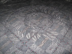 Shipwreck Shawl - Center Detail