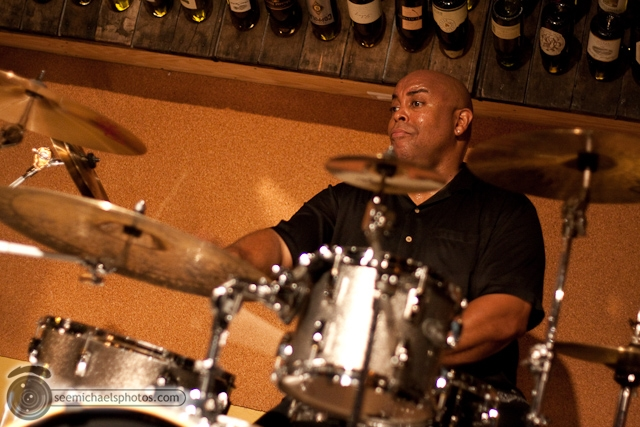 Paul Seaforth's Mo Sax at Dizzy's 41710 © Michael Klayman-043