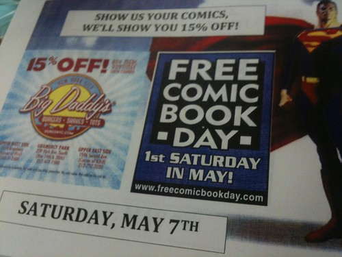 Comic-Book Cross-Promotion!