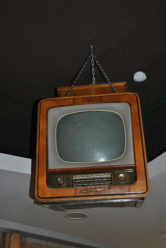 Раритетный телевизор в Яндексе