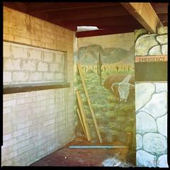 Farmer John's Slaughterhouse Mural (Detail) 01 by Jason Willis
