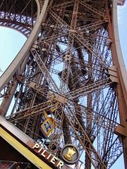 The Eiffel Tower (williamcho) Tags: park city paris france tourism buildings cityscape eiffeltower landmark champdemars attraction sevenwonders digitalimaging seineriver ironlady kartpostal globalicon topazlabadjust williamcho sonydscwx1 patrickcheah