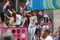 Puerto Rican Day Parade 2011 057 (Chuck Diesel) Tags: sexy tights thighs cameltoe phat leggings puertoricandayparade2011 stretchjeeans