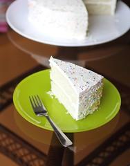 Sprinkle party cake (Adventuress Heart) Tags: family cake kids sisters fun baking homemade sprinkles birthdaycake swissmeringuebuttercream whitecake partycake adventuressheart sprinklepartycake