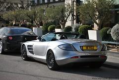 Mercedes-Benz SLR McLaren 722S Roadster - Qatar (Helvetics_VS) Tags: licenseplate qatar sportcars mercedes slr 722s mclaren
