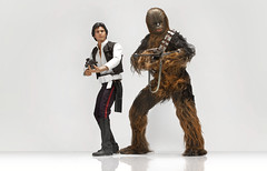 Sideshow 6th Scale Han and Chewie (TeamNovak) Tags: sideshowcollectibles 6thscale figure starwars han chewie wookie scoundrel chewbacca