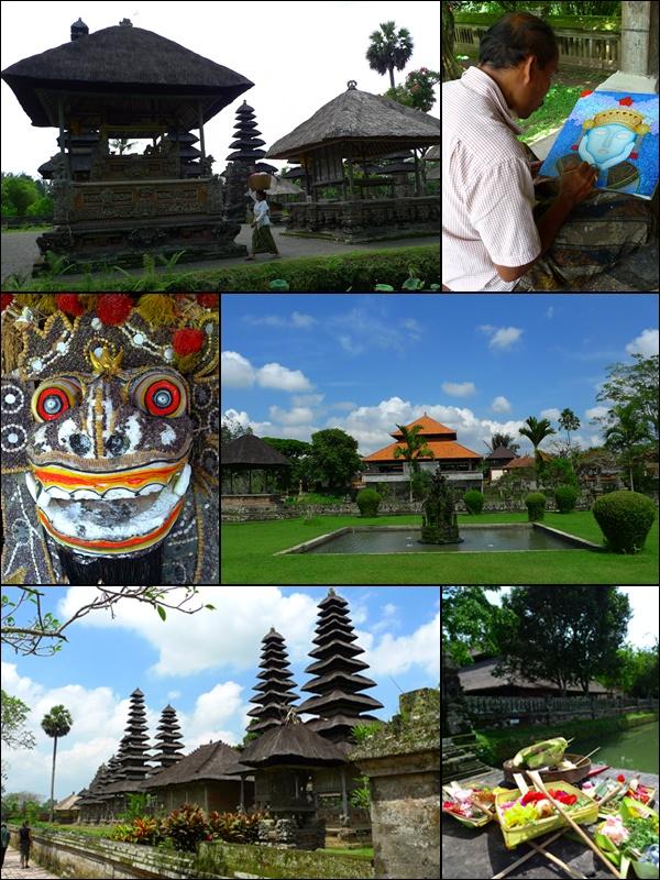 Scenes in Pura Taman Ayun