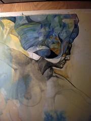 in progress: The Puppeteer (Patricia Ariel) Tags: art pencil watercolor mixedmedia surrealism paintings workinprogress treeoflife visionary patriciaariel