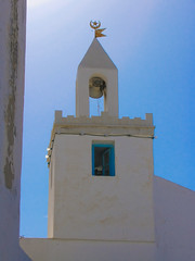 Tunisia 2009 (kruijffjes) Tags: africa travel sea building castle tourism grave architecture religious coast ancient mediterranean fort tunisia african decorative muslim islam famous faith religion landmark palace mosque arabic mausoleum cupola dome medina destination marble exploration vacations islamic tunisian jihad monastir تونس tunesië ribat ©gdk