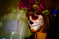 You'll need booze even when your Dead! (A.C.Thamer) Tags: halloween canon dayofthedead diadelosmuertos hollywoodforever thamerphotography acthamer alexthamer