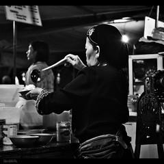 time for ice-kacang (1davidstella) Tags: bw 50mm nikon market streetphotography streetportrait kotakinabalu bazaar nikkor sabah hawker d300 nikonflickraward flickraward 1davidstella 4tografie