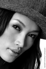 Amber Chia #6 (wanahfong) Tags: lighting bw white black studio amber model nikon guess supermodel chia malaysia nikkor malaysian 2009 strobe 1755 d300 amberchia