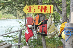 Kids Sink (Birdman of El Paso) Tags: alaska kids river geotagged texas sink tx joe el lila paso birdman soop grossinger geo:lat=62211634 geo:lon=150117187