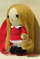 Amigurumi girl: Little Red Riding Hood (K and J Dolls) Tags: fairytale toy doll pattern patterns crochet pop littleredridinghood amigurumi muster spielzeug disegno jouet redridinghood patron juguete puppe anleitung basteln speelgoed motivo patroon virka pupazzi uncinetto gurumi balocco humanfiguredoll humanamigurumi