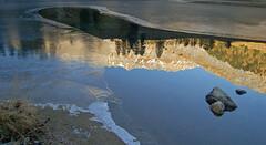 reflection / Reflexion (upsa-daisy) Tags: palpuognasee preda albula graubünden graubunden laidapalpuogna see lake alps alpen herbst autumn schweiz switzerland suisse svizzera grisons grigioni