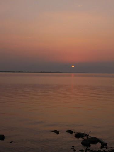 琵琶湖の夕焼け-08