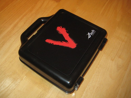 V promotional lunchbox