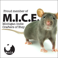 Proud member of M.I.C.E. sign (jnhkrawczyk) Tags: show sign shop logo pin michigan craft fair mice badge indie button etsy chapas pinback barrelofmonkeys crafters jillnhamiltonkrawczyk 125inch