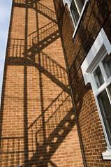 Stairs Shadow (Marie-Marthe Gagnon) Tags: shadow canada brick window stairs quebec marthe stairway westsidestory iamcanadian flickrchallengegroup flickrchallengewinner mariegagnon mariemarthegagnon mariemgagnon