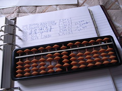 Abacus, Filofax, wrong result