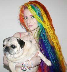 19 Shades of Manic Panic (wisely-chosen) Tags: november dog selfportrait dawn pug bebe redhair pinkhair bluehair orangehair 2009 picnik purplehair theempress beebs greenhair yellowhair rainbowhair verylonghair fawnpug colorfulhair lavenderhair naturallycurlyhair adobephotoshopcs4 multicolorhair manicpanicprettyflamingo manicpanicflaming manicpaniccottoncandypink manicpanicatomicturquoise manicpanicrubine manicpanicredpassion manicpanicvampirered rescuedpug empressbebe empressbeebs sweetbeebs manicpanicultraviolet manicpanicbadboyblue manicpanicfuschiashock manicpanicpurplehaze manicpanicshockingblue manicpaniclielocks manicpanicelectricbanana manicpanicelectriclava manicpanicelectriclizard manicpanicmysticheather manicpanicplumpassion manicpanictigerlily