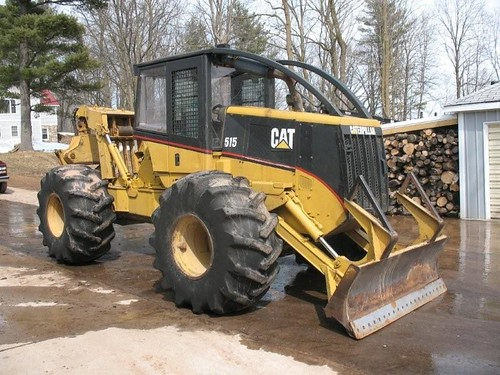 CAT 515 Grapple Skidder with Winch 001 - a photo on Flickriver