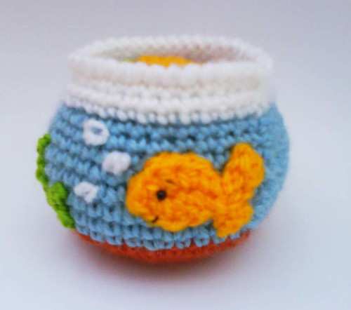 goldfish tank pictures. Goldfish Tank Crochet Pattern
