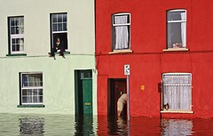 Cork city flooding, 20-Nov-09 (A guy called John) Tags: city ireland winter wet water rain river flooding garda flood cork centre lee change burst emergency heavy 2009 climate warming banks services global
