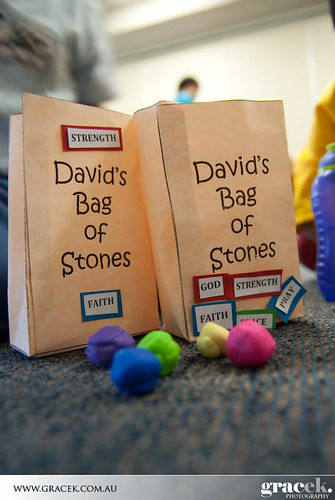 David s bag of stones kinnen