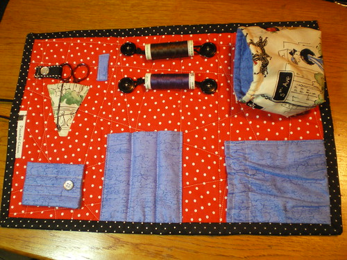 Sewing Caddy - inside