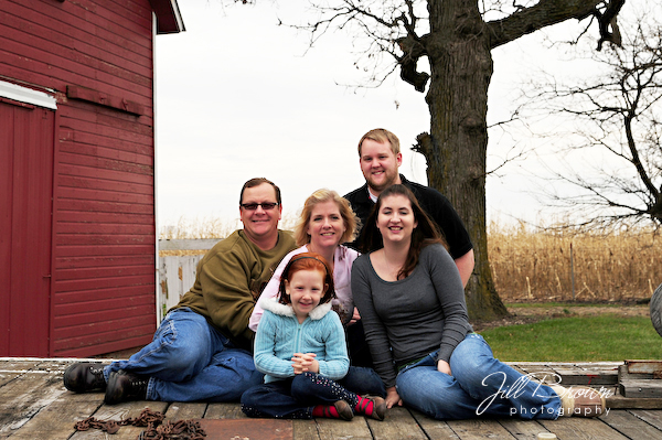 November 22, 2009:  Family Session