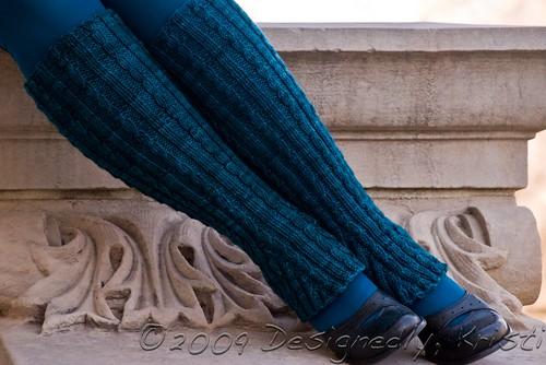 Collegiate Flare Leg Warmers