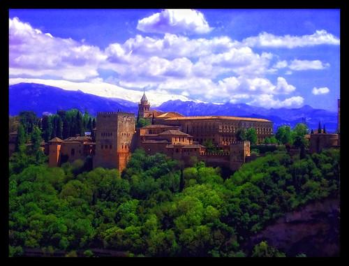 la alhambra desde san nicolas por feniche.