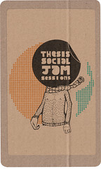 Thesis on brown paper (Justice Mukheli) Tags: street art moleskine illustration pen photoshop design stickerart fineart pop line popart pendrawing charector typogaphy paperdrawing pencilandpen