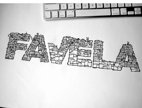 Thumb Favela font