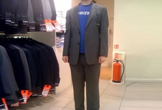 My suit!