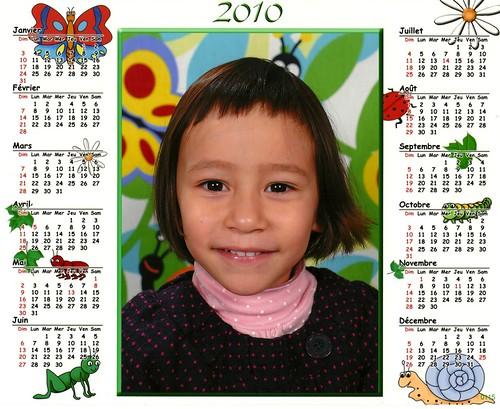 calendrier école
