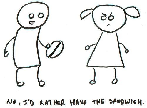 366 Cartoons - 308 - Sandwich