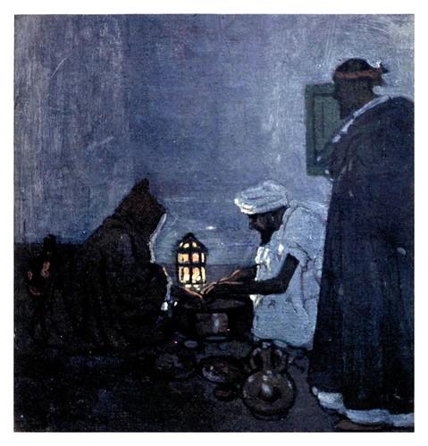 035-Preparando la cena-Marruecos-Morocco 1904- Ilustraciones de A.S. Forrest