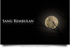 Sang Rembulan | The Moon (AnNamir c[_]) Tags: moon silhouette nikon kitlens siluet lunar newyeareve happynewyear 2010 lunareclipse ranting bulan 1431 d90 selamattahunbaru gerhanabulan ampangpecah annamir buyie nazra sangrembulan happynewyear2010 15muharram