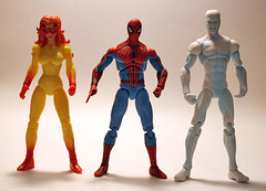 Spiderman and his Amazing Friends (Corey's Toybox) Tags: toy actionfigure spiderman figure iceman marvel exclusive toysrus firestar hasbro marveluniverse 375