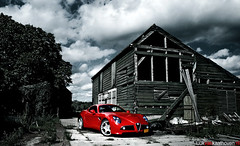 Alfa Romeo 8C Competizione, Pure beauty... (Luuk van Kaathoven) Tags: auto birthday red car photography nikon flickr photoshoot sam anniversary year shed megan automotive explore fox alfa romeo 100 van lingen 8c luuk savali competizione transaxle explored d80 luukvankaathovennl kaathoven