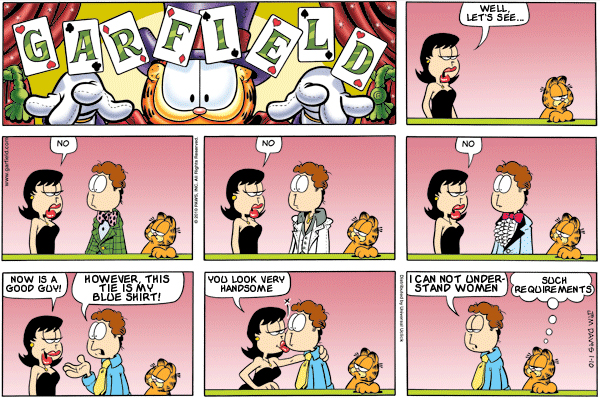 Garfield: Lost in Translation, January 10, 2010