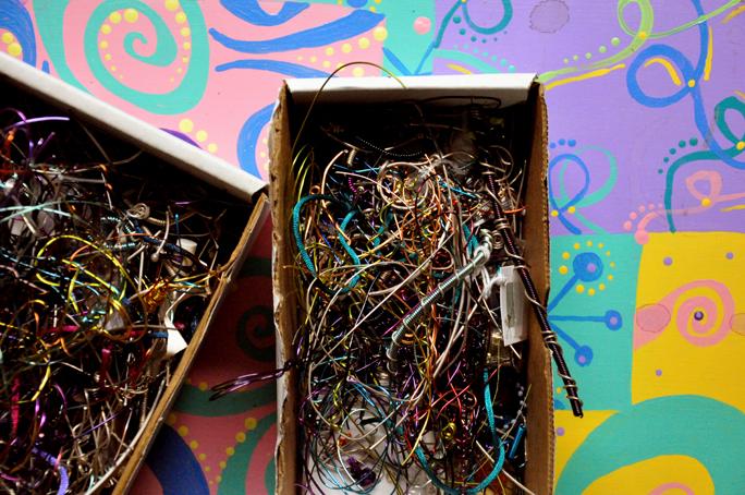 scrap boxes