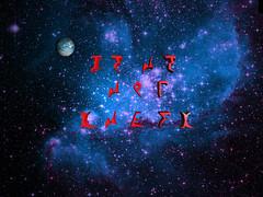 Klingons' Message (Vestaligo) Tags: sf stars 3d render space fantasy nebula virtualreality planet bryce sciencefiction outerspace visualart otw klingonsalphabet